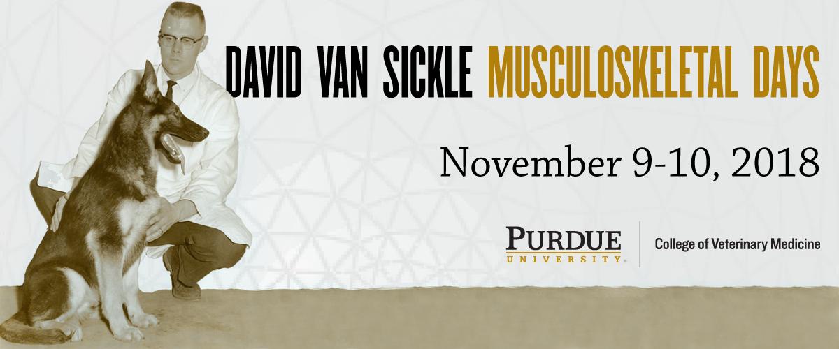 David Van Sickle Musculoskeletal Days