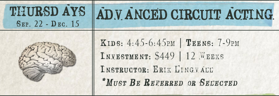 Advanced Circuit Acting - Spring (Teens)