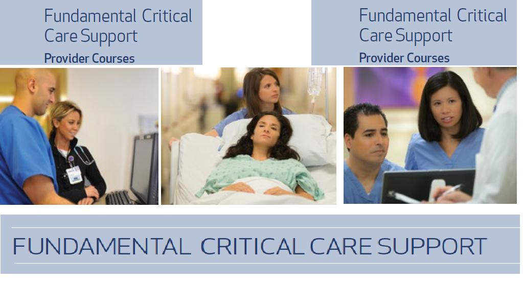 Fundamental of Critical Care Support (FCCS)  Course