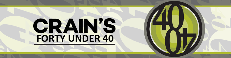Crain's 2018 Forty Under 40