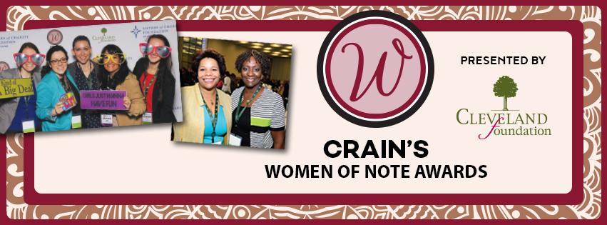 2017- Crain's Women of Note Awards