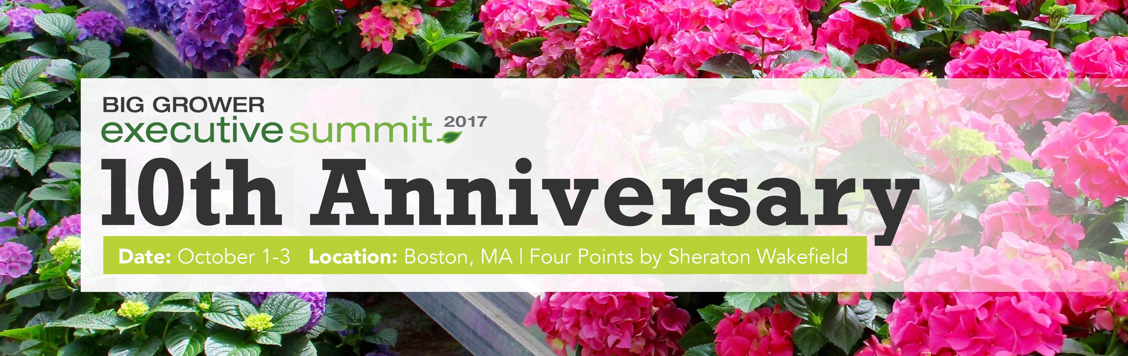 2017 Big Grower Executive Summit