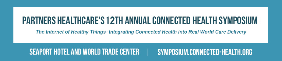 Partners HealthCare 12th Annual Connected Health Symposium