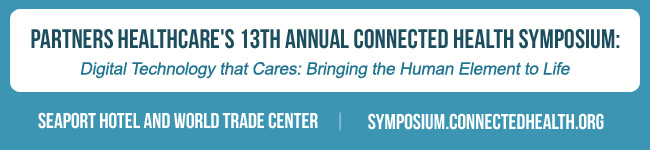 Partners HealthCare 13th Annual Connected Health Symposium