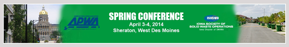 2014 APWA / ISOSWO Spring Conference