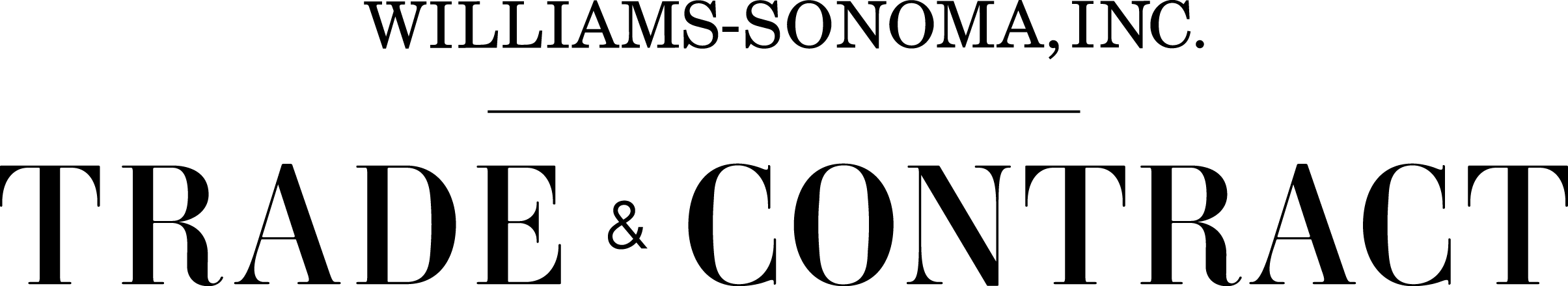 Williams-Sonoma To The Trade