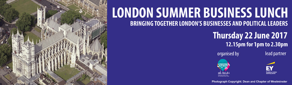 London First's Summer Business Lunch 2017