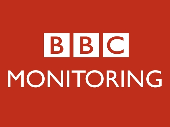 BBC Monitoring tile red