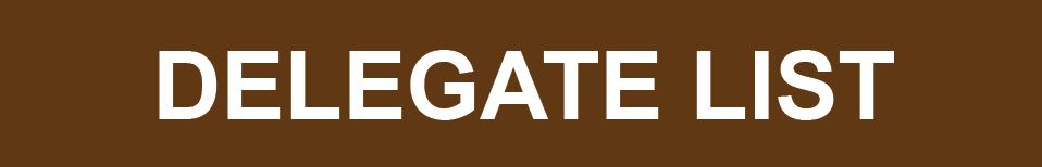 Delegate list - 2017-01