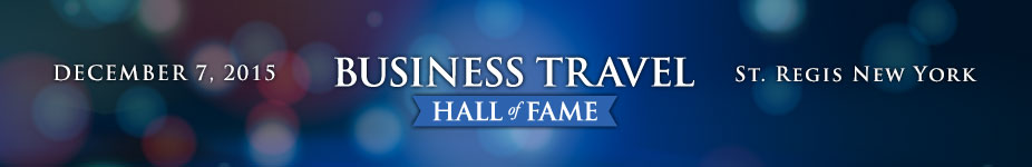 2015 Business Travel Hall of Fame