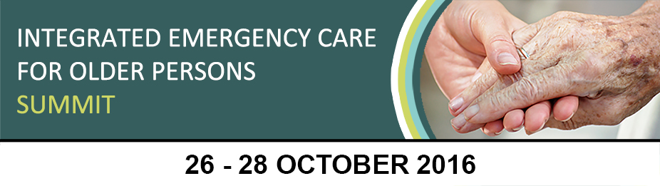 Integrated Emergency Care for Older Persons Summit
