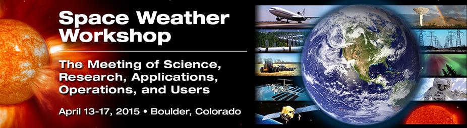 2015 Space Weather Workshop