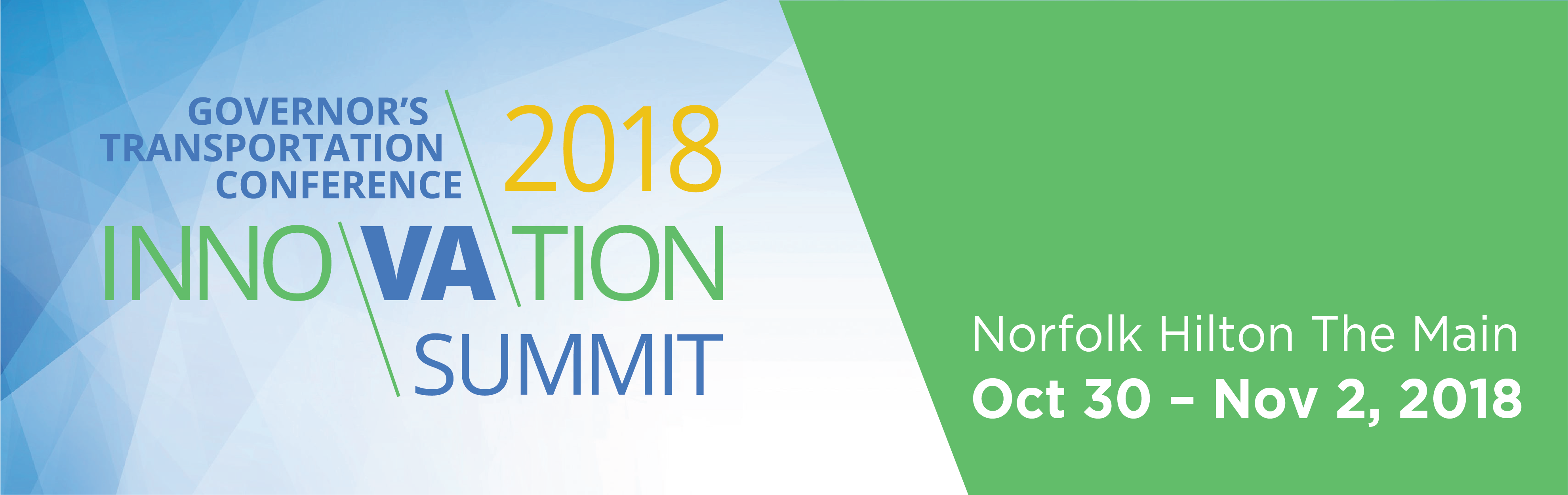 Governor's Transportation Conference/2018 Innovation Summit