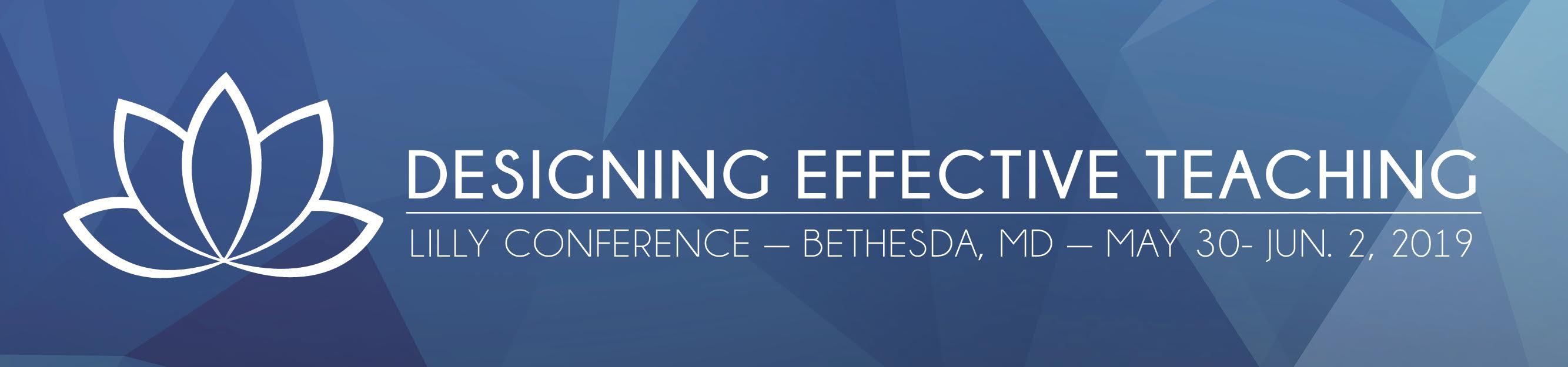 Designing Effective Teaching - Bethesda 2020