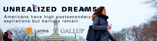 Gallup-Lumina Study Release