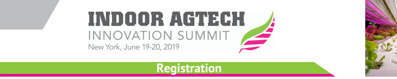 Indoor Ag-Tech Innovation NYC 2019