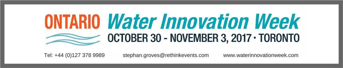Ontario Water  Innovation Week