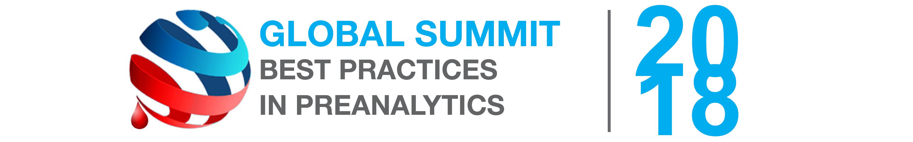 Global Summit on Best Practices in Preanalytics