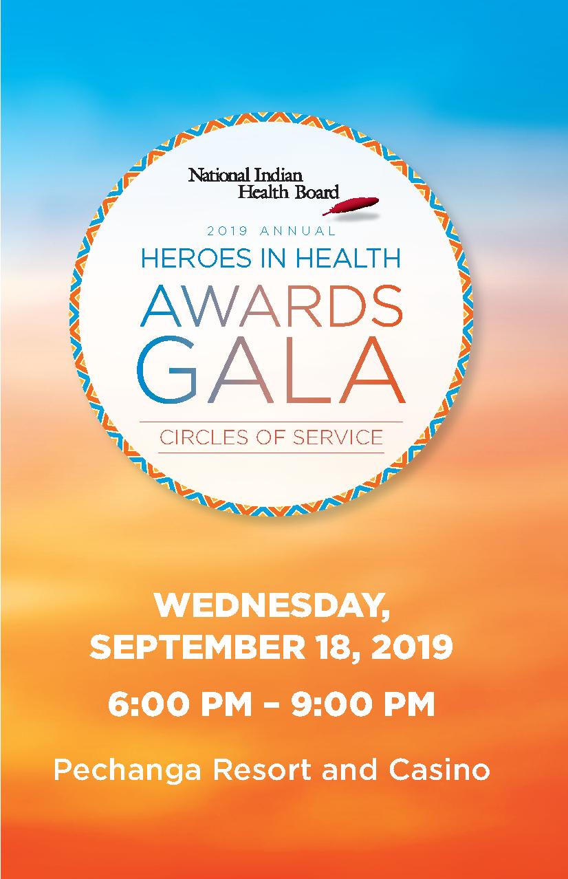 2019 National Indian Health Board Heroes in Health Awards Gala