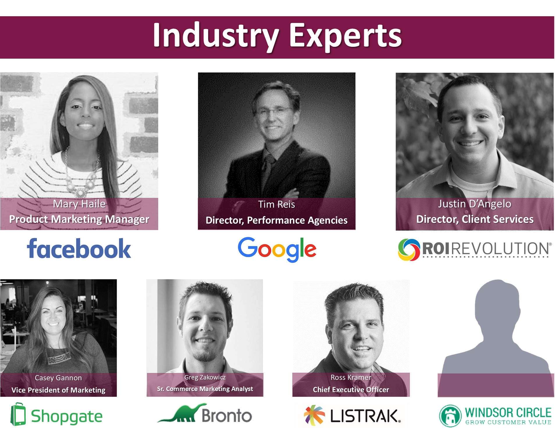 Industry Speakers