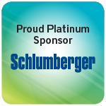 Proud Platinum Sponsor Schlumberger