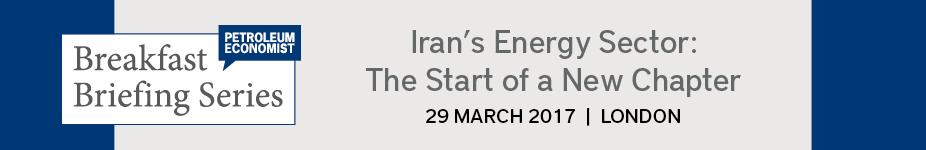 Petroleum Economist Iran Energy Breakfast Briefing