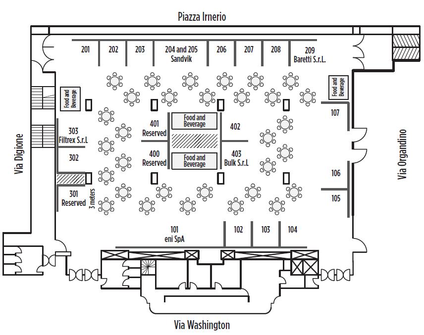 IRPC Europe floorplan