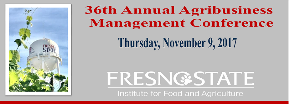 36th Annual Agribusiness Management Conference