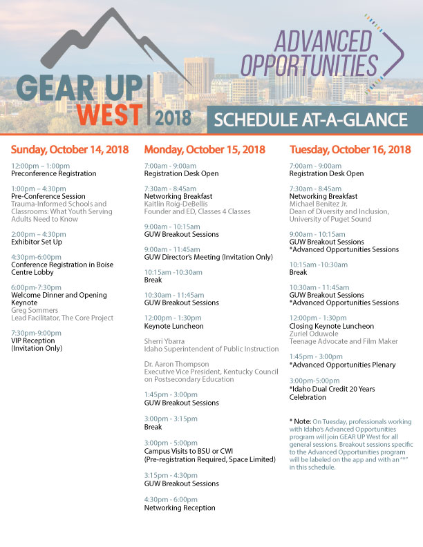100918-Conference-At-A-Glance