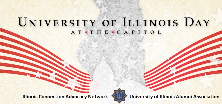 University of Illinois Advocacy Day at the Capitol 2013