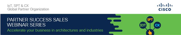 Partner Success Sales Webinar Series - FY20Q3