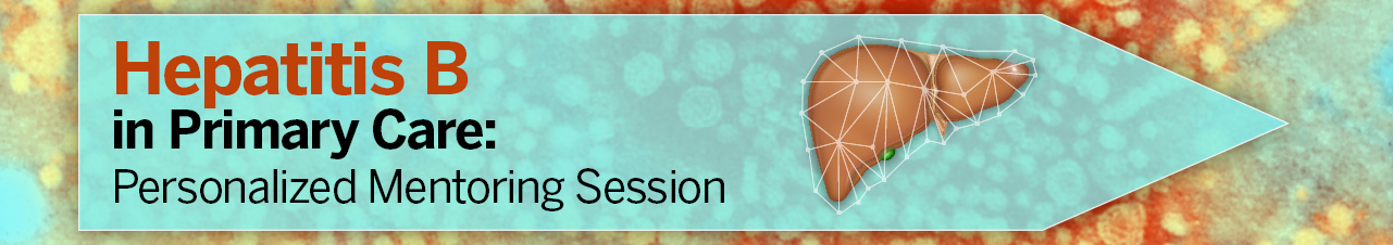 Hepatitis B in Primary Care: Personalized Mentoring Session