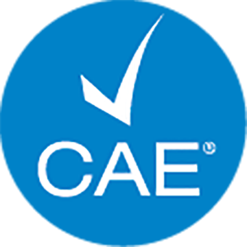 CAE Approved Logo Transparent