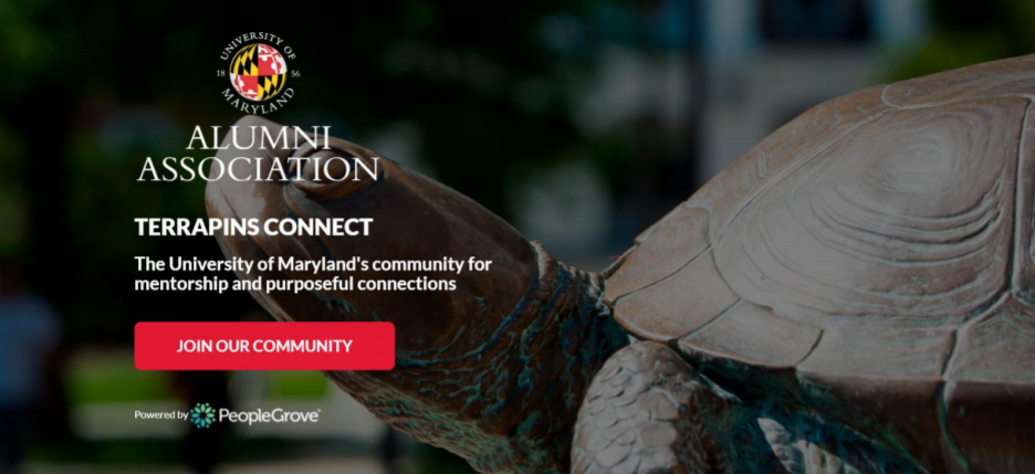 Terrapins Connect promotional banner