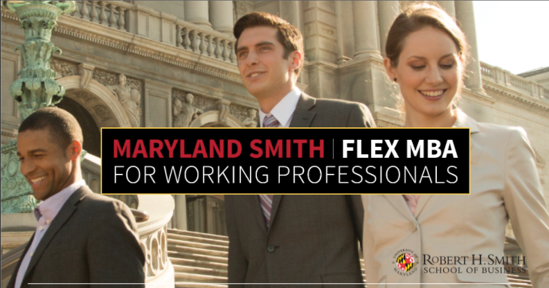 Flex MBA for Working Professionals promotional graphic