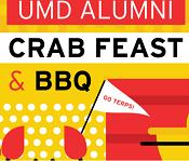 UMD Alumni Crab Feasts & BBQs promotional graphic