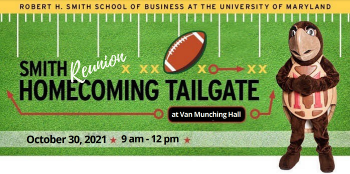 Smith Reunion Homecoming Tailgate promotional graphic