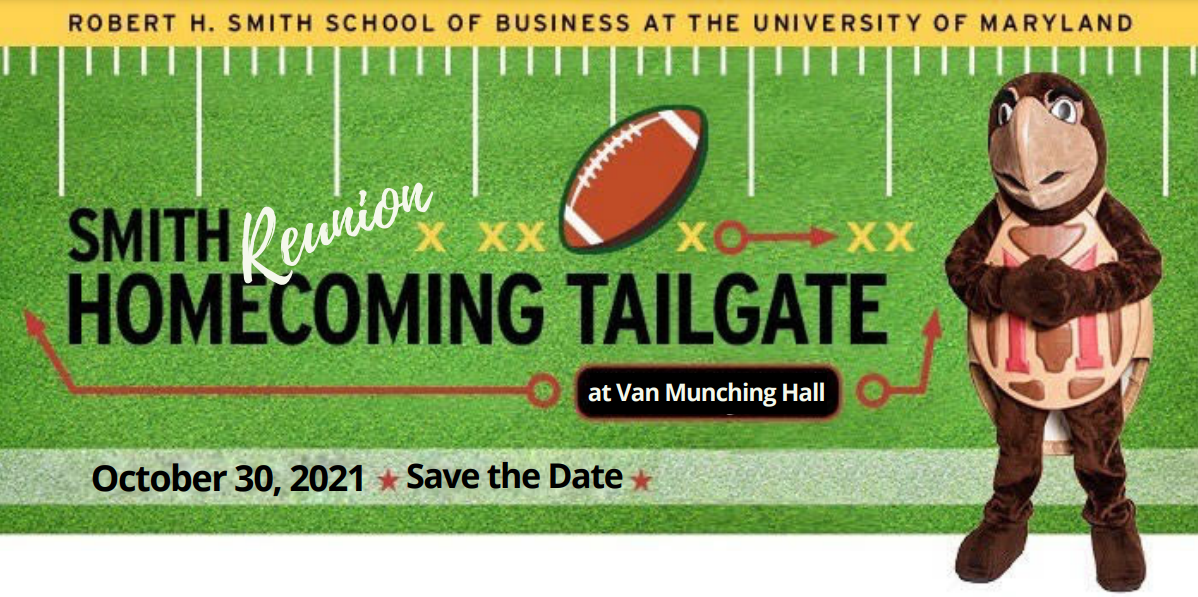 Smith Reunion Homecoming Tailgate 2021 promotional graphic