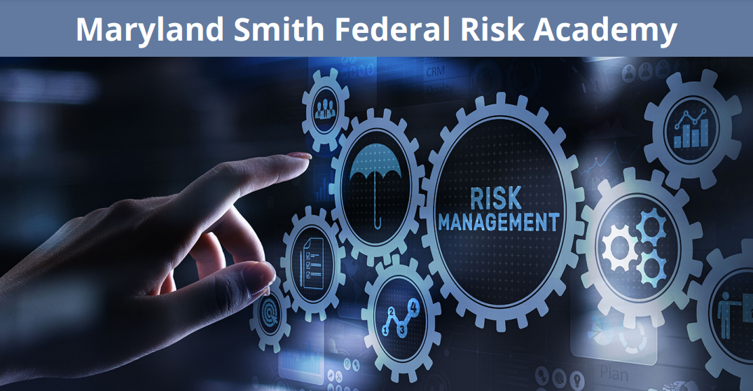 Maryland Smith Federal Risk Academy promotional graphic