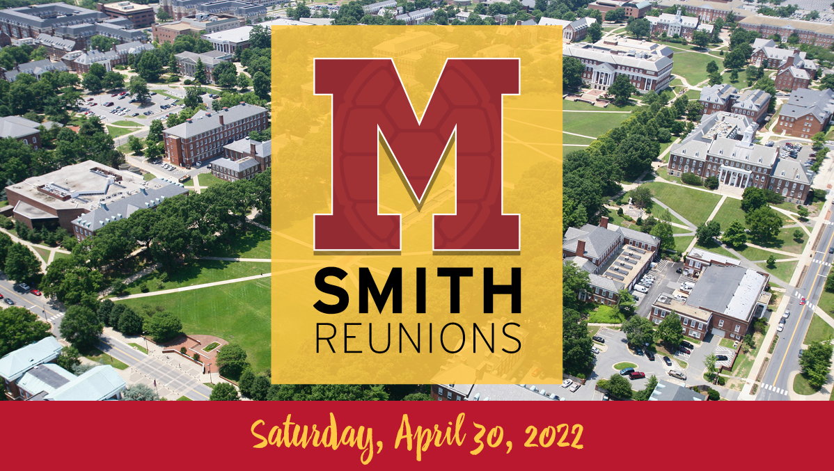 Maryland Smith Reunions 2022 promotional graphic