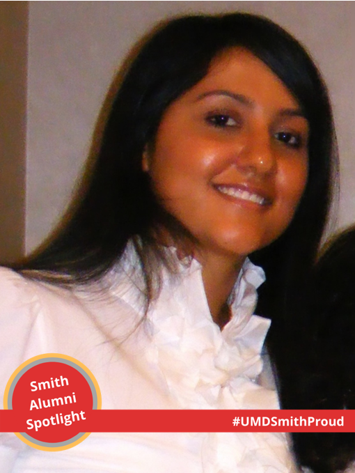 Zohra Ibrahimi '11 spotlight headshot