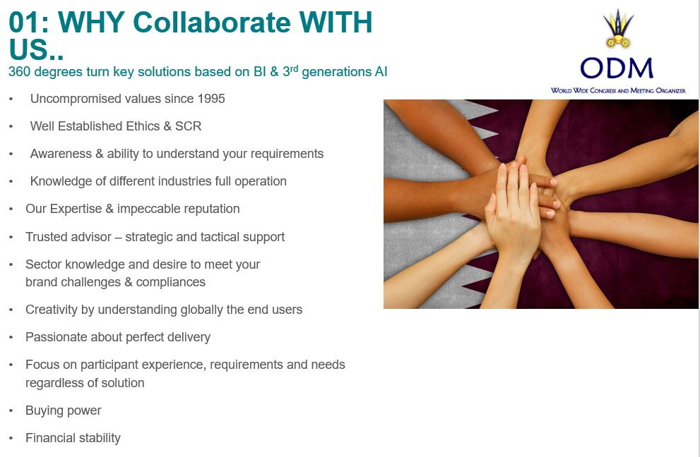 Why collaborate with us