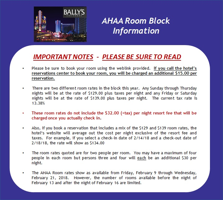 Hotel Info - Revised - 8.30.17