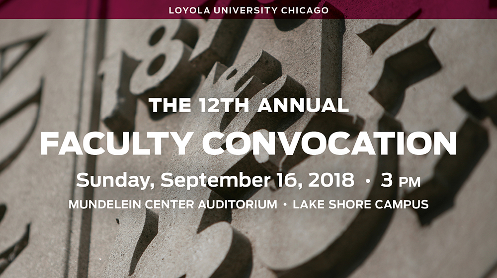 Faculty Convocation 2018