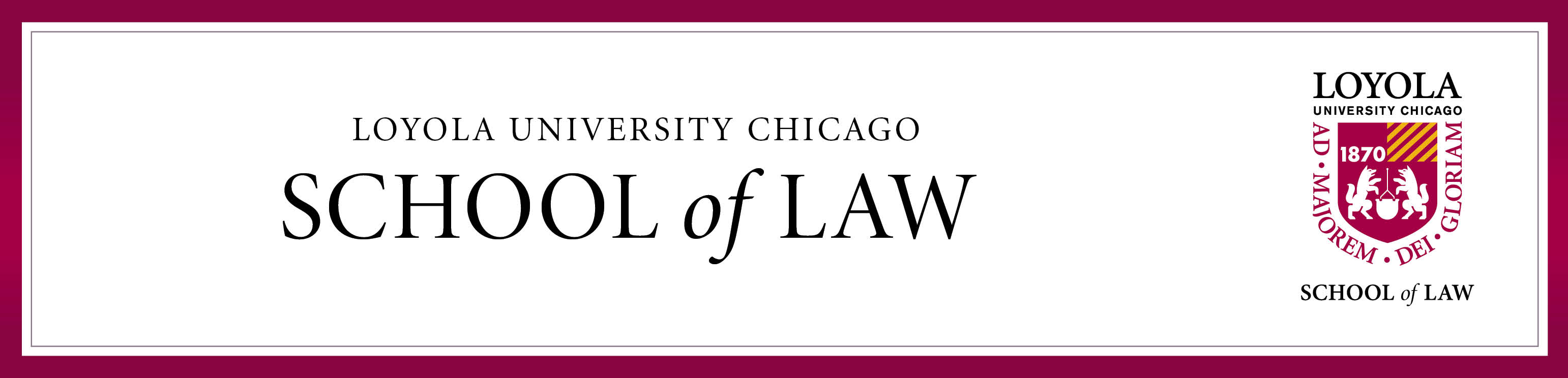 Generic Law School Header