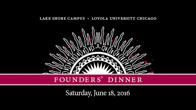 2016 Founders' Dinner