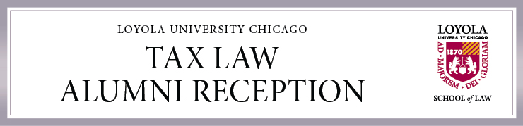 Tax Law Alumni Reception