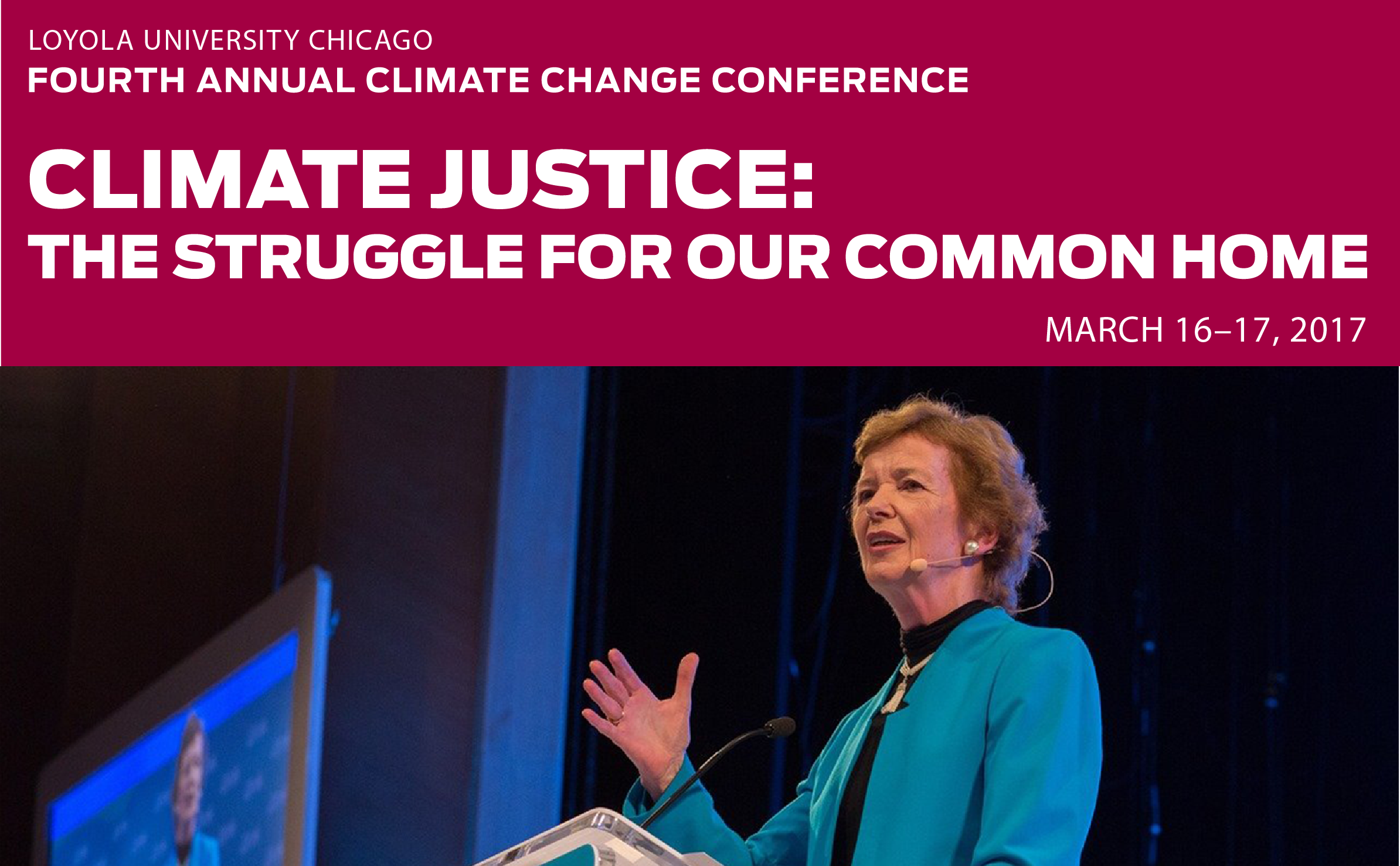Loyola's 4th Annual Climate Change Conference