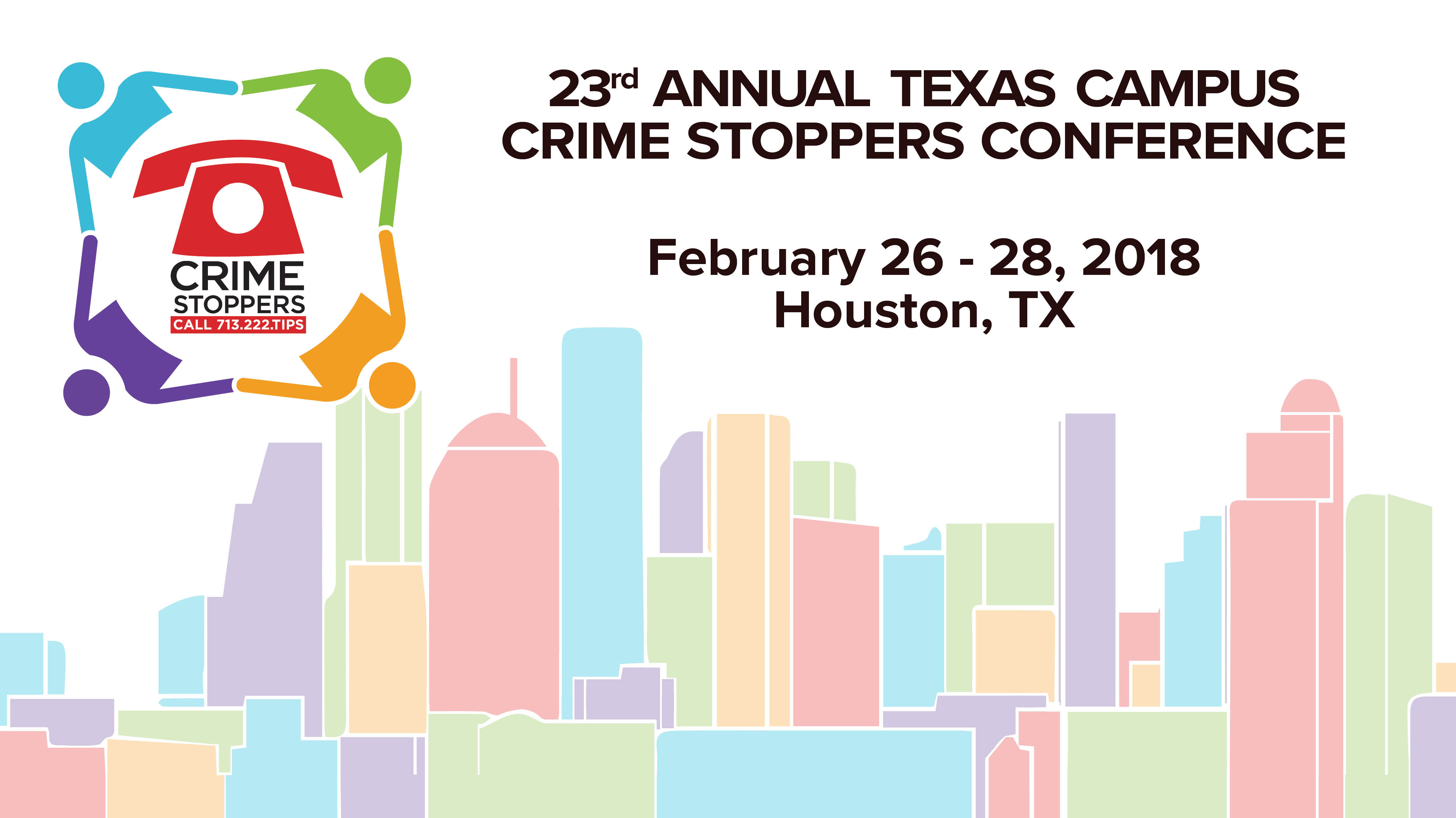 23rd Annual Campus Conference- Crime Stoppers