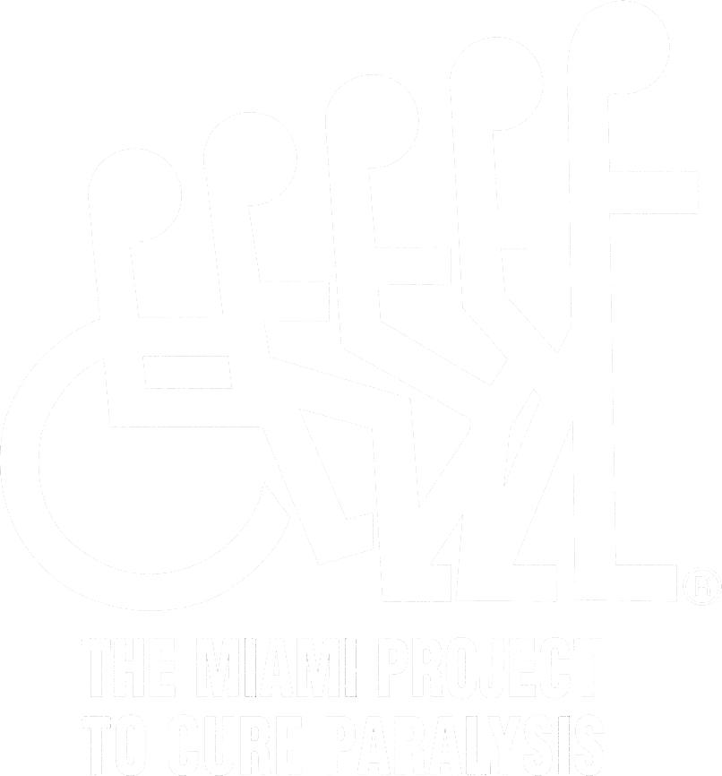 Miami Project Logo - White